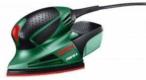 """Bosch 0603354000 Ponceuse Multi """"Easy"""" PSM 80 A avec Coffret et 3 Feuilles Abrasives de la marque Bosch image 0 produit"""