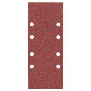 Bosch 2 608 605 296 2608605296 Feuille Abrasive pour Ponceuse vibrante 93 x 230 mm 8 Trous Grain 80 10 pièces Modèle A, Gris de la marque Bosch image 0 produit
