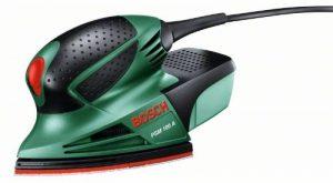 Bosch Ponceuse Multi PSM 100 A compacte et puissante avec coffret et 3 feuilles abrasives 06033B7000 de la marque Bosch image 0 produit