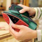 Bosch Ponceuse Multi PSM 100 A compacte et puissante avec coffret et 3 feuilles abrasives 06033B7000 de la marque Bosch image 2 produit