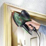 Bosch Ponceuse Multi PSM 200 AES (2 Feuilles Abrasives, Plateau de Ponçage Rectangulaire, Coffret, 200 W) de la marque Bosch image 2 produit