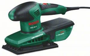 """Bosch Ponceuse vibrante """"Easy"""" PSS 200 A avec microfiltres, coffret et feuille abrasive 0603340000 de la marque Bosch image 0 produit"""