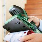 """Bosch Ponceuse vibrante """"Easy"""" PSS 200 A avec microfiltres, coffret et feuille abrasive 0603340000 de la marque Bosch image 2 produit"""