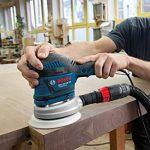 Bosch Professional 060137B101 Ponceuse excentrique GEX 125-150 AVE, 400 W L-BOXX, Bleu de la marque Bosch-Professional image 2 produit