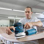 Bosch Professional 060137B101 Ponceuse excentrique GEX 125-150 AVE, 400 W L-BOXX, Bleu de la marque Bosch Professional image 3 produit