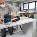 Bosch Professional 060137B101 Ponceuse excentrique GEX 125-150 AVE, 400 W L-BOXX, Bleu de la marque Bosch-Professional image 4 produit