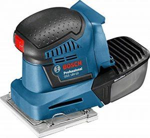 Bosch Professional Ponceuse Vibrante sans-fil GSS 18V-10 (sans Batterie, 18 V, Régime à Vide : 11 000 tr/min, Carton) de la marque Bosch Professional image 0 produit