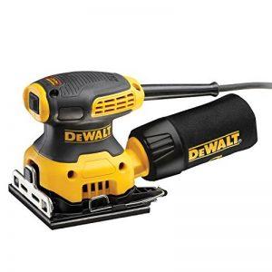 DeWalt dwe6411z-it–Ponceuse orbitale (230W, 1/4feuille, 14000opm et couplage pour volets roulants de bois) de la marque DeWalt image 0 produit