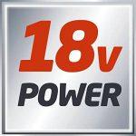 Einhell Ponceuse excentrique TE-RS 18 Li - Solo Power X-Change (Variateur électronique, Système auto-agrippant, Livré avec 1 feuille abrasive) VERSION SOLO LIVRE SANS BATTERIE NI CHARGEUR de la marque Einhell image 4 produit