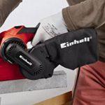 Einhell TC-BS 8038 Ponceuse à bande avec sac à poussière, 800 W, 230 V, rouge, taille unique de la marque Einhell image 1 produit