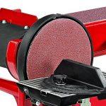 Einhell Touret de ponçage TC-US 400 (375 W, Diamètre du plateau : 150 mm, Table pivotante et inclinable, Livré avec bande et disque de ponçage) de la marque Einhell image 1 produit