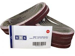 Lot de 48 bandes abrasives SBS - 13 x 457 mm - Assortiment de 8 pièces par granulation: 40/60/80/120/180/240 de la marque SBS image 0 produit