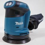 Makita DBO180ZJ Ponceuse excentrique sans fil en coffret MAKPAC sans batterie ni chargeur 18 V 125mm de la marque Makita image 1 produit