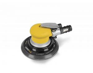 Powerplus POWAIR0013Ponceuse orbital rotative pneumeatique Diamètre: Ø150mm Swing excentrique 5mm de la marque PowerPlus image 0 produit