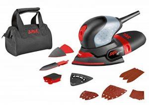 Skil 7207AK Octo Ponceuse Multifunction Compacte (100W, 100 x 150 mm, Sac à Poussière, 3 Set de Feuille abrasive, Sac de Transport) de la marque SKIL image 0 produit