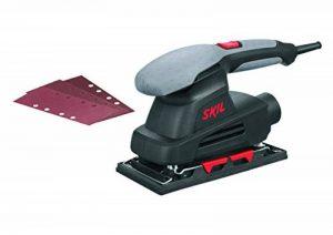 Skil 7338AA Ponceuse Vibrante (160W, 92 x 185 mm, Système Auto agrippant et par Étrier, Raccord pour Aspirateur, 3 Feuilles abrasives) de la marque SKIL image 0 produit