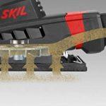 Skil 7347AA Ponceuse Vibrante (160W, 92 x 185 mm, Sac à Poussière, Raccord pour Aspirateur, 3 pcs Set de Feuille abrasive) de la marque SKIL image 2 produit