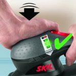 Skil 7366AC Ponceuse Vibrante (240W, 92 x 185 mm, Pressure Control, Sac à Poussière, 30 Feuilles abrasives, Coffret) de la marque SKIL image 2 produit