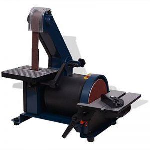 vidaXL Ponceuse à Bande Disque 300 W Machine à Polir Ponceuse Meulage Ponçage de la marque vidaXL image 0 produit