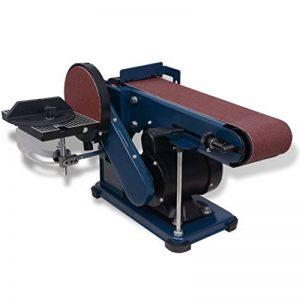 vidaXL Ponceuse à Bande Disque 375 W Machine à Polir Ponceuse Meulage Ponçage de la marque vidaXL image 0 produit